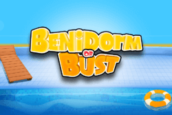 Benidorm or Bust online slots by PocketWin mobile casino